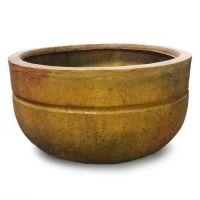 Endale Pot Medium 9.5in. Fiber Stone Resin Indoor/Outdoor Statue