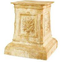 English Riser Stand Pedestal Statue Base 20in. - Fiberglass - Statue