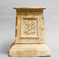 English Riser Stand Pedestal Statue Base 20in. - Stone - Statue