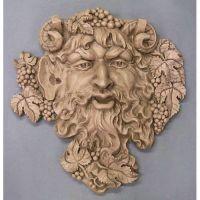 Epic Wall Bacchus 19in. - Fiberglass Resin - Indoor/Outdoor Statue