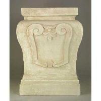 Fallon Riser Stand Pedestal Statue Base 14in. Fiberglass Statue