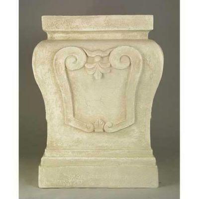 Fallon Riser Stand Pedestal Statue Base 14in. Fiberglass Statue -  - F35009-1