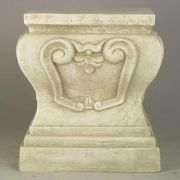 Fallon Riser Stand Pedestal Statue Base - 22in. High Fiberglass