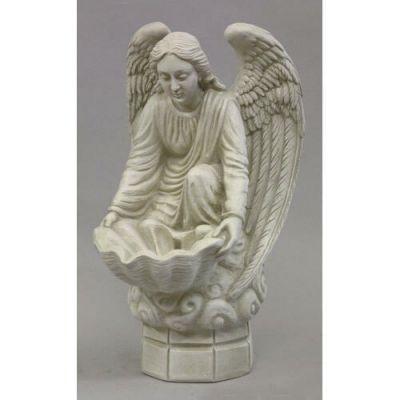 Fegana Angel 18 Inch Fiberglass Indoor/Outdoor Statue/Sculpture -  - F9062