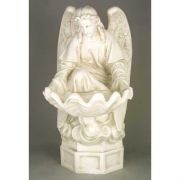 Fegana Angel - 32 Inch Fiberglass Indoor/Outdoor Garden Statue