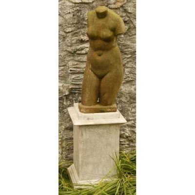 Fiber Stone Resin Outdoor Torso 29in. Fiber Stone Resin Outdoor Statue -  - FS8223