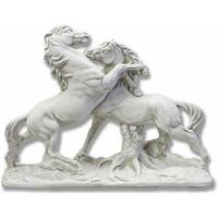Fighting Horses - Fiberglass Resin - Indoor/Outdoor Statue/Sculpture