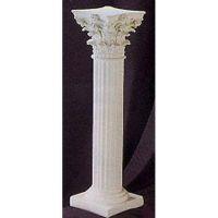 Fineline Corinth 39in. Fiberglass Column Indoor/Outdoor Statue