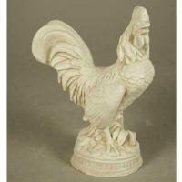 French Chicken 9.5in. - Fiberglass - Indoor/Outdoor Statue