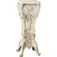 French Riser Stand Pedestal Statue Base 30in. - Stone - Statue