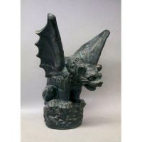 Gargoyle Large 25in. High - Fiberglass - Indoor/Outdoor Statue
