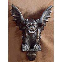 Gargoyle Relief 14in. - Fiberglass - Indoor/Outdoor Statue