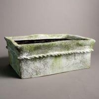 Gema Planter Small Fiber Stone Resin Indoor/Outdoor Statue/Sculpture