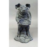 Gertrude Pig Angel 21in. - Fiberglass - Indoor/Outdoor Statue