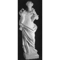 Goddess Of Cornucopia 72in. High - Fiberglass - Outdoor Statue