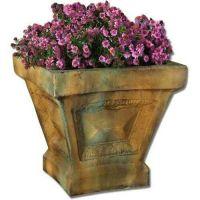 Grand Avenue Pot 18in. Fiber Stone Resin Indoor/Outdoor Garden Statue