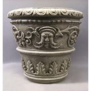 Greenman Florentine Flower Pot 21in. - Fiberglass - Statue