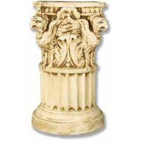 Griffin Riser Stand Pedestal Statue Base Planter - Fiberglass - Statue