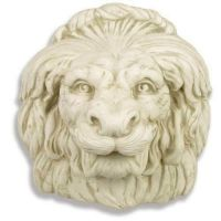 Growling Lion Mask 18in. - Fiberglass - Indoor/Outdoor Statue