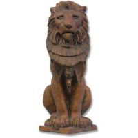 Guardian Lion - Fiberglass - Indoor/Outdoor Statue/Sculpture