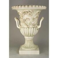Handle Entry Way Urn 30in. Fiberglass Indoor/Outdoor Statue