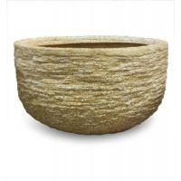 Harden Pot Medium 9.5in. B Fiber Stone Resin Indoor/Outdoor Statue