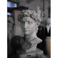 Head Of David From Original 48in. Fiberglass In/Outdoor Statue