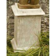 Vendi Riser Stand Pedestal Statue Base 24in. - Stone - Statue