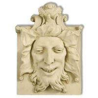 Heckling Green Man 15in. - Fiberglass - Indoor/Outdoor Statue