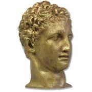 Hermes Antiquity Head 9in. High - Fiberglass - Outdoor Statue