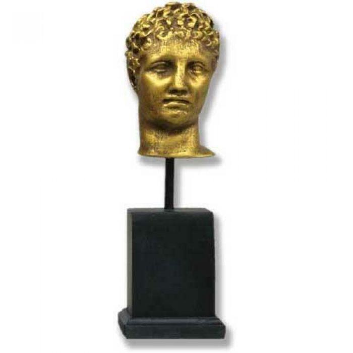 Busts : Hermes Head On Cube - Fiberglass - Indoor/Outdoor ...