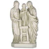 Holy Family 25 Inch Fiberglass Indoor/Outdoor Statue/Sculpture
