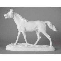 Horse - Fiberglass Resin - Indoor/Outdoor Garden Statue/Sculpture