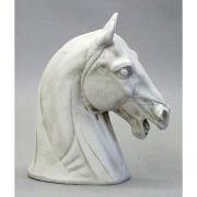 Horse Head 13in. Fiberglass Resin - Indoor/Outdoor Statue/Sculpture