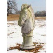 Horse's Head - Fiber Stone Resin - Indoor/Outdoor Statue/Sculpture