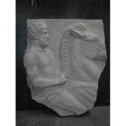 Horseman Fragment(The Met)26in. - Fiberglass Resin - Outdoor Statue