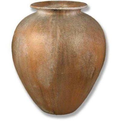 Hubbard Oil Jar 30in. Fiber Stone Resin Indoor/Outdoor Garden Statue -  - FS7896
