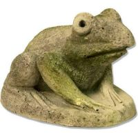 Hypno Frog Fiber Stone Resin Indoor/Outdoor Garden Statue/Sculpture