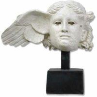 Hypnos Head On Base (Sleep) - Fiberglass - Indoor/Outdoor Statue