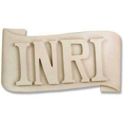 INRI Sign For Large Corpus of Christ for Church Fiberglass Resin -  - F8046
