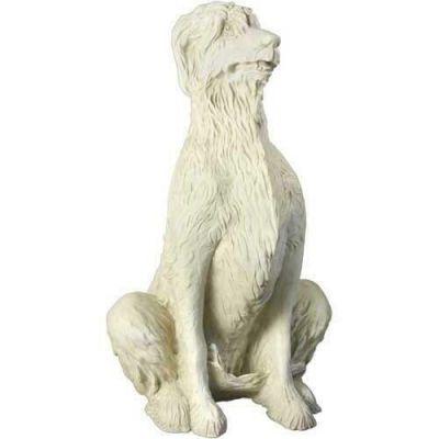 Irish Wolfhound 49in. - Fiberglass - Indoor/Outdoor Statue -  - FDSIW470