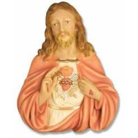 Jesus Plaque Fiberglass Indoor Church Statue/Sculpture