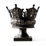 King Crown - Fiberglass - Indoor/Outdoor Garden Statue/Sculpture