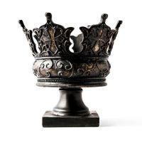 King Crown - Fiberglass - Indoor/Outdoor Garden Statue/Sculpture