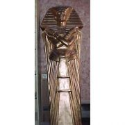 King Tut Sarcophagus - Fiberglass - Indoor/Outdoor Garden Statue