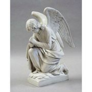 Kneeling Angel Praying Fiberglass Indoor/Outdoor Garden Statue