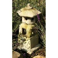 Lantern House 16in. Fiber Stone Resin Indoor/Outdoor Garden Statue