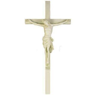 Large Corpus of Christ for Church w/Cross Fiberglass Statue -  - F7075