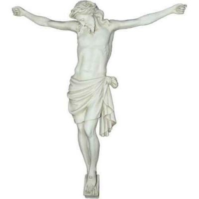 Large Corpus of Christ for Church 33in. Head Down - Fiberglass Resin -  - F8516