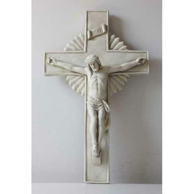 Large Corpus of Christ On Cross for Church  20in- Fiberglass Resin -  - F8451